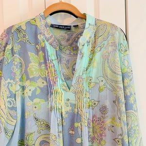 Susan Graver blouse with tank (2pieces)